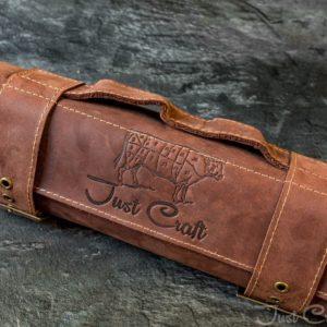 Поварская скрутка для ножей Шоколад
