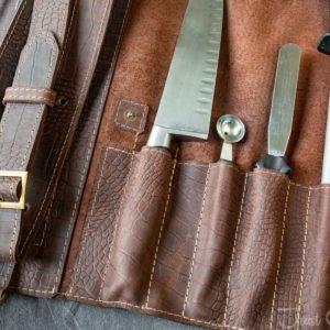 Скрутка для ножей Данди Шоколад